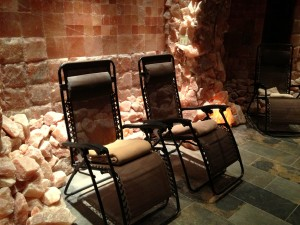 It's nap time! Relax in our zero gravity chairs and warm blankets